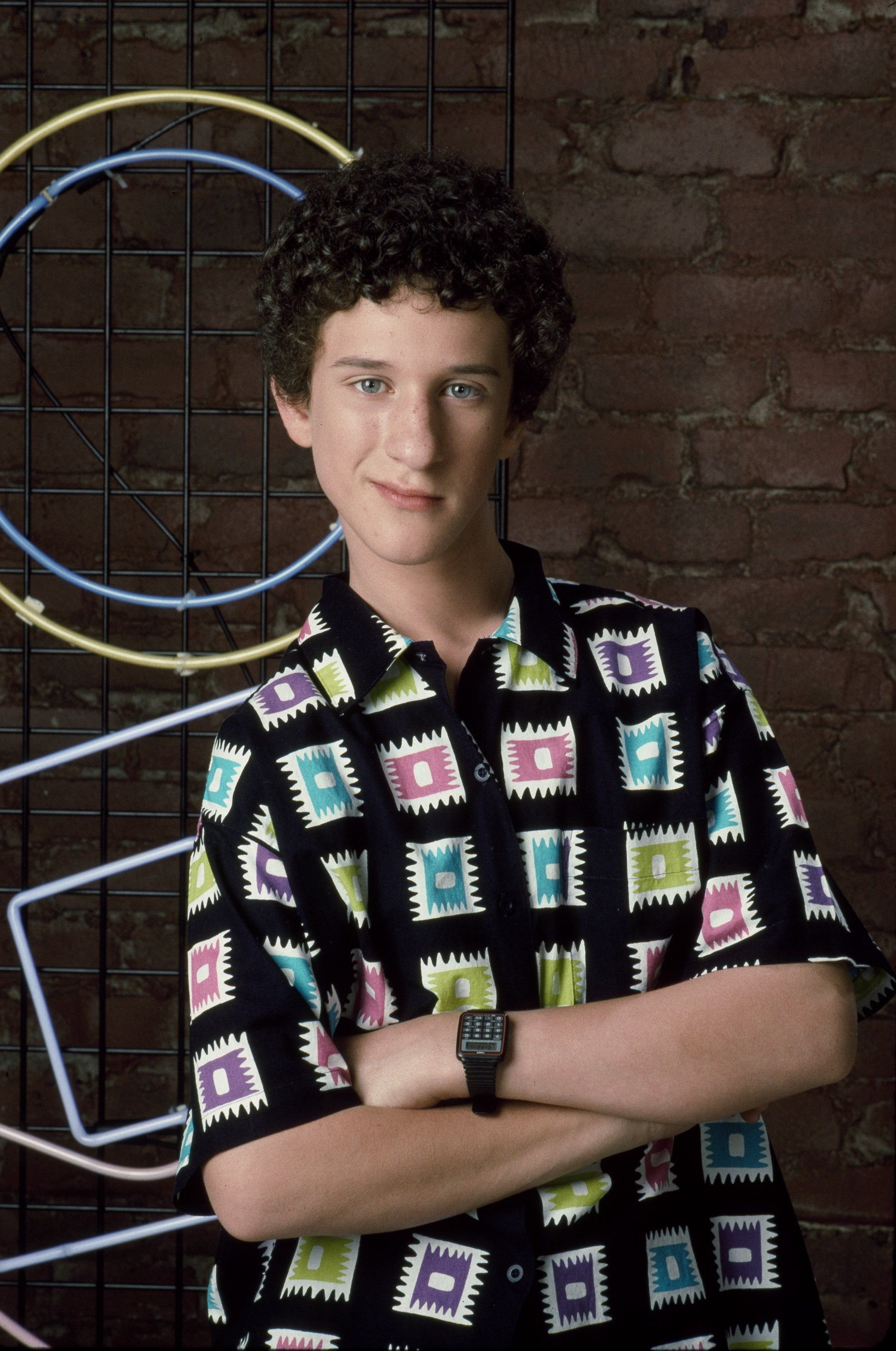 """A portrait of Dustin Diamond as Samuel """"Screech"""" Powers in a photo uploaded on  October 03, 2006 