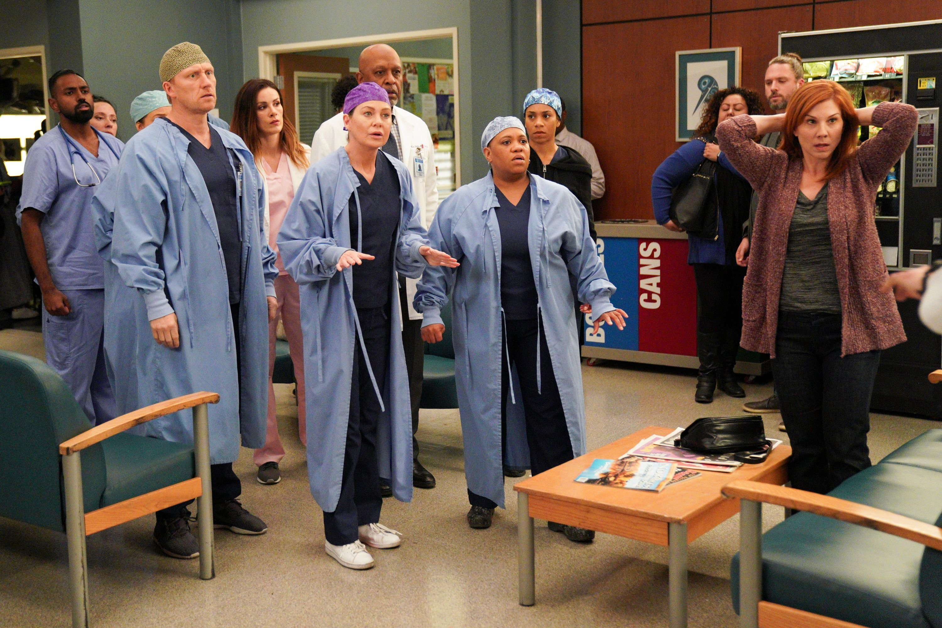 A still from 'Grey's Anatomy' episode 'Give a Little Bit' | Photo: Getty Images