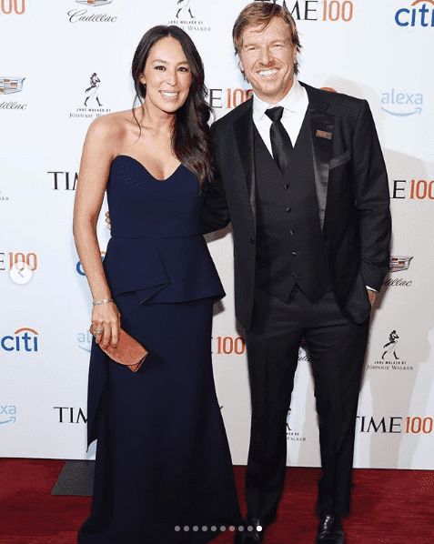 Chip and Joanna Gaines at the Time 100 Gala. I Image: Instagram/Instyle.