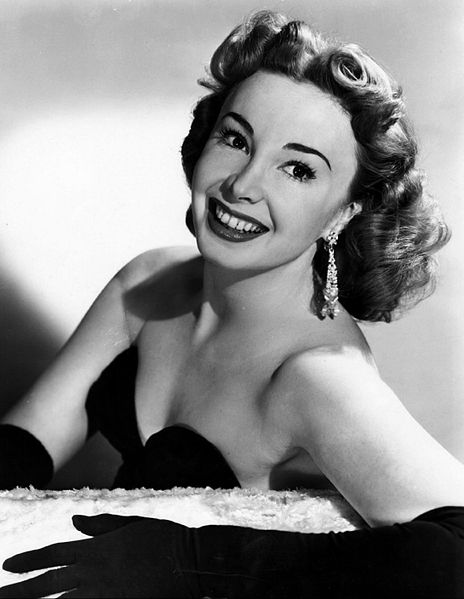 "Audrey Meadows from the early television program ""Bob and Ray."" 