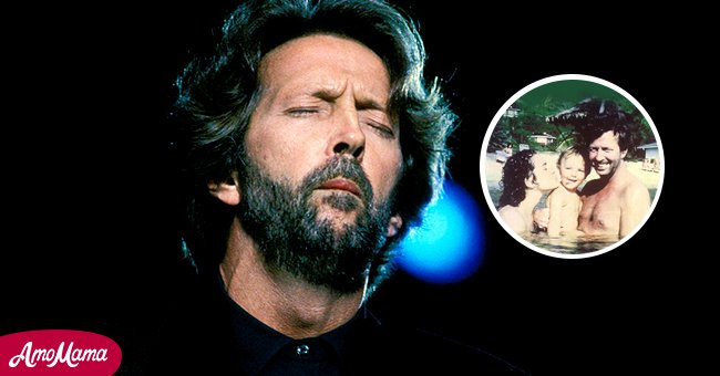 Picture of guitarist Eric Clapton and his son | Photo: Getty Images