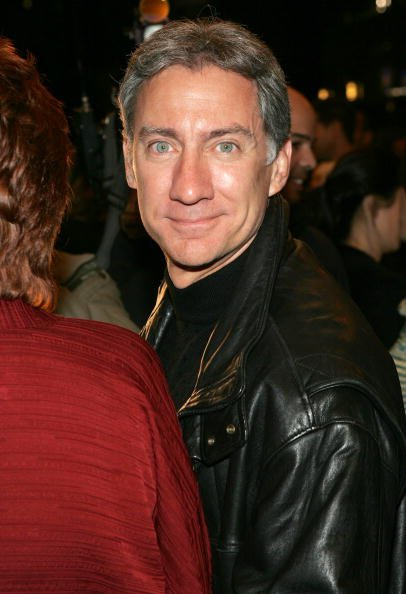 """David Garrison attends the opening night celebration of """"Whoopi"""" on Broadway at the Lyceum Theatre November 17, 2004, in New York City. 