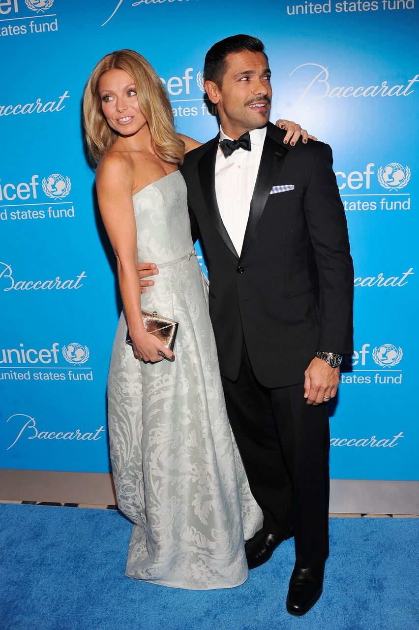 Kelly Ripa and Mark Consuelos attend the Unicef SnowFlake Ball. | Source: Getty Images