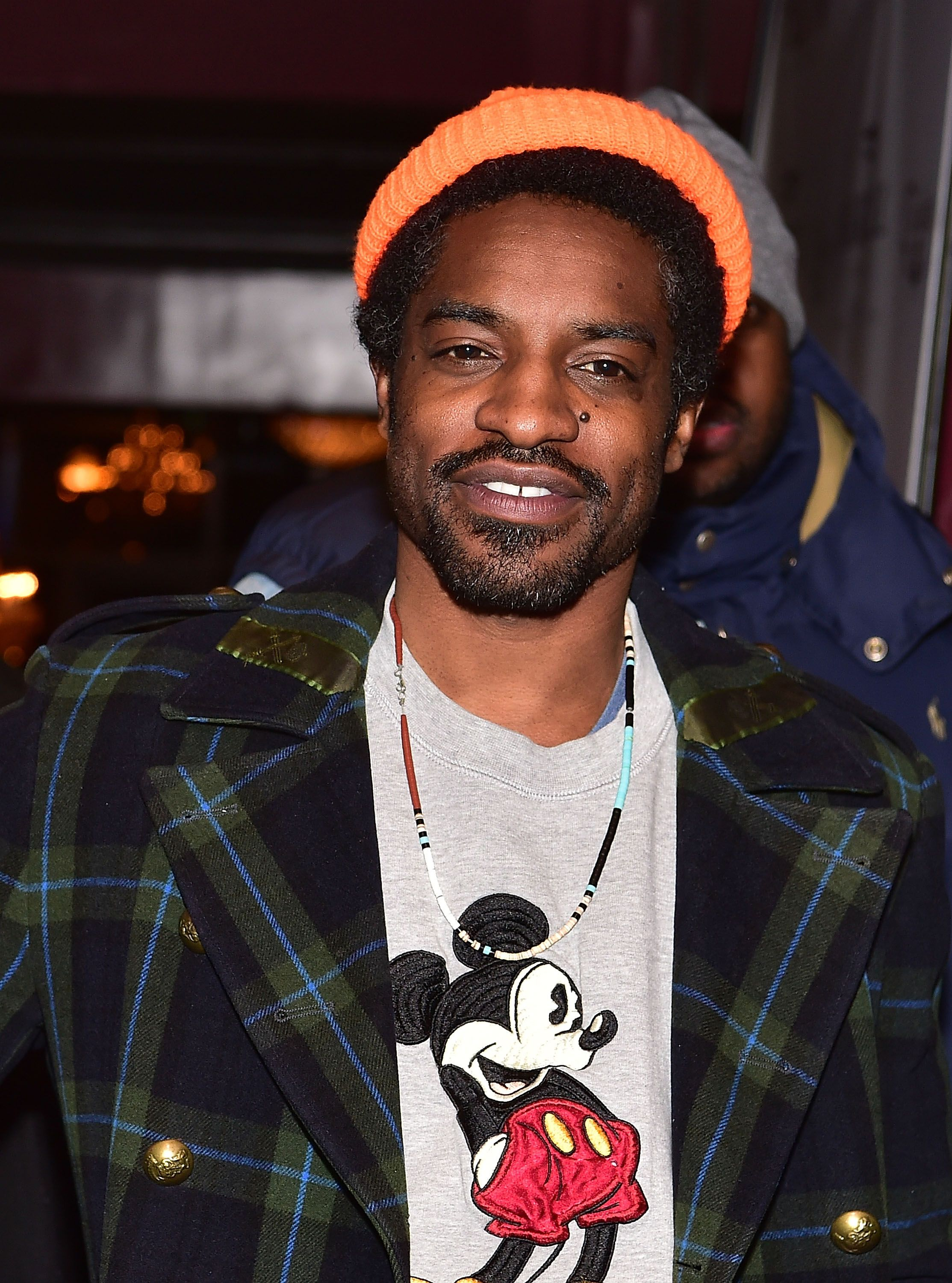 "Rapper Andre 3000 of Outkast at the Grammy Nomination Celebration for Kawan ""KP"" Prather in 2016 in Atlanta, Georgia 