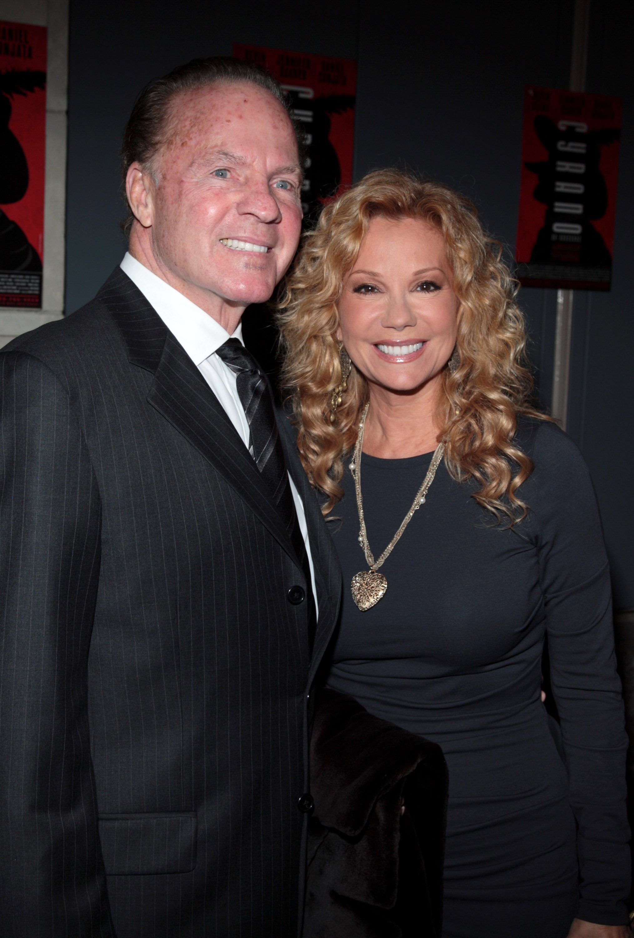 "Kathie Lee Gifford and Frank Gifford, at the opening night of ""Cyrano De Bergerac"" at the Richard Rodgers Theatre November 1, 2007  