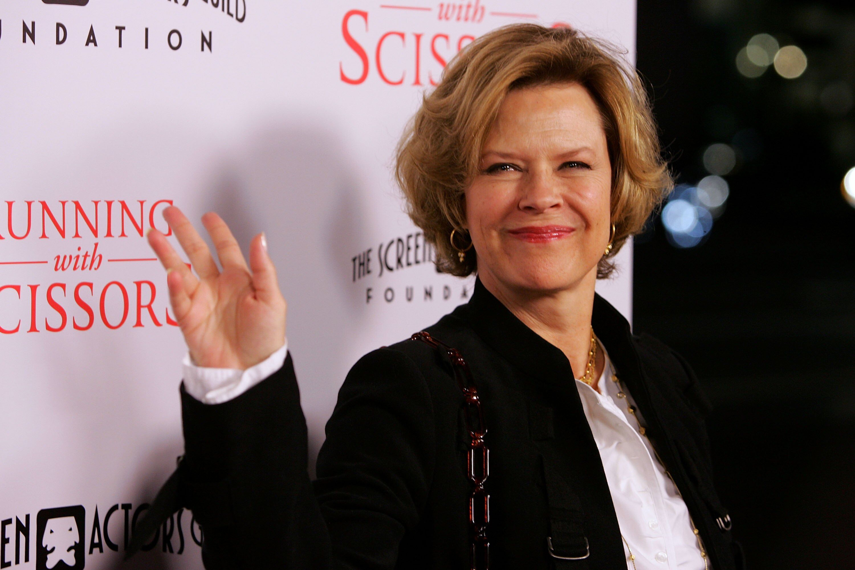 "JoBeth Williams arrives at the world premiere of Tristar Picture's ""Running With Scissors."" 