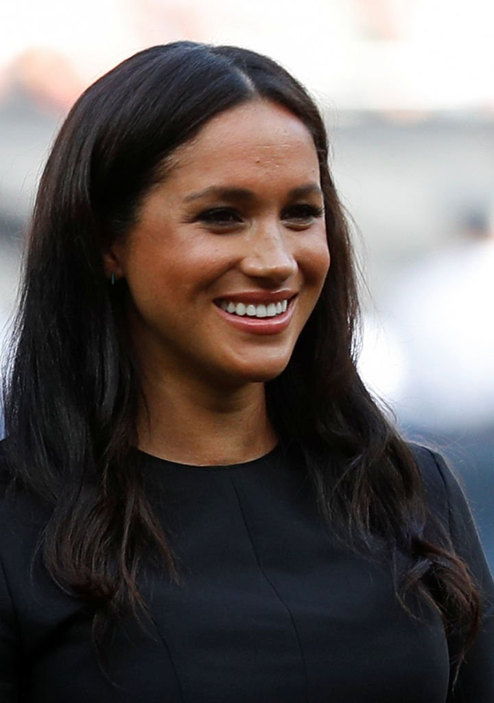Meghan, Duchess of Sussex attends the Boston Red Sox vs New York Yankees baseball game at London Stadium | Photo: Getty Images