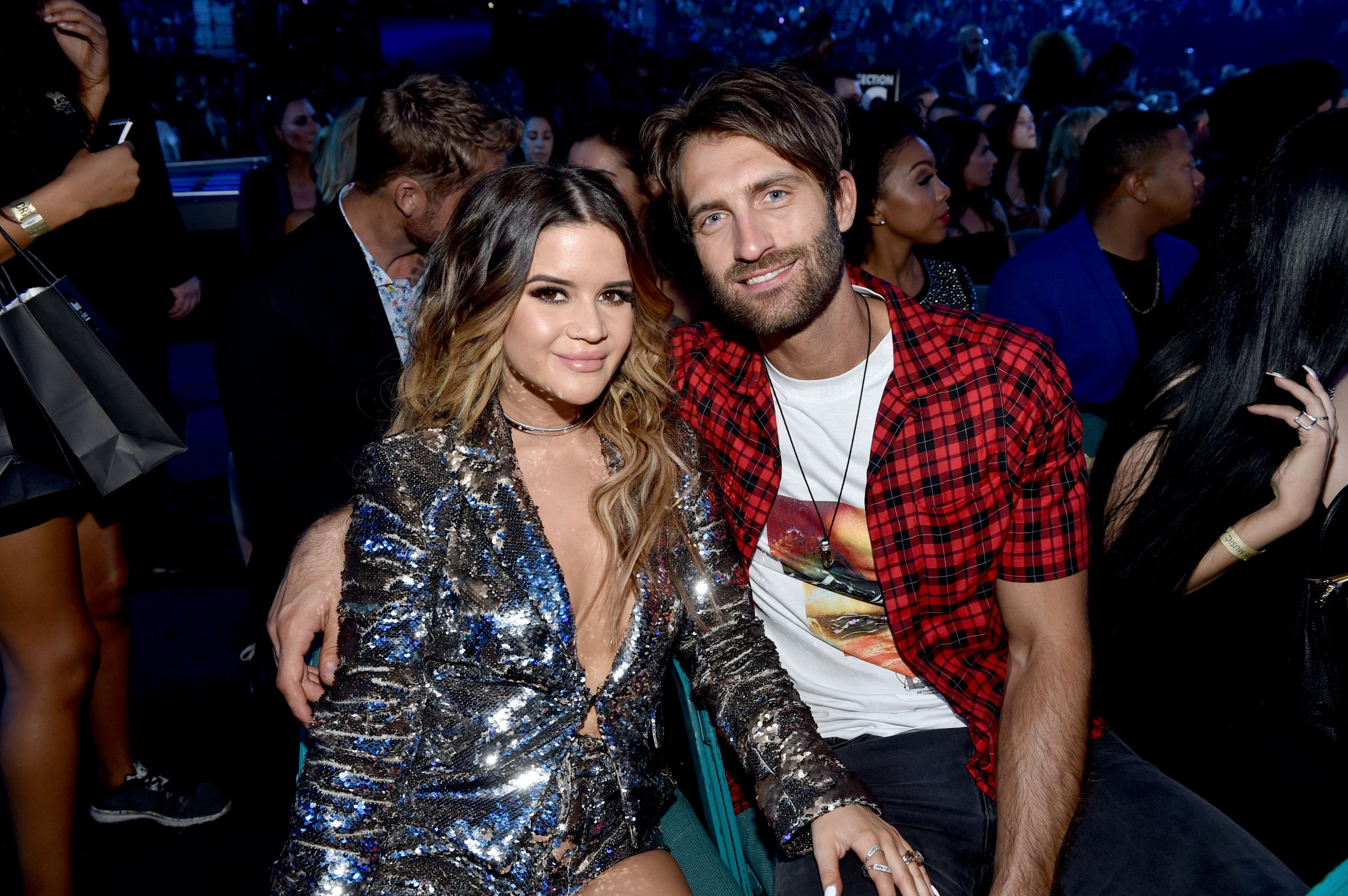 Maren Morris and Ryan Hurd during the 2018 Billboard Music Awards at MGM Grand Garden Arena on May 20, 2018 in Las Vegas, Nevada. | Source: Getty Images