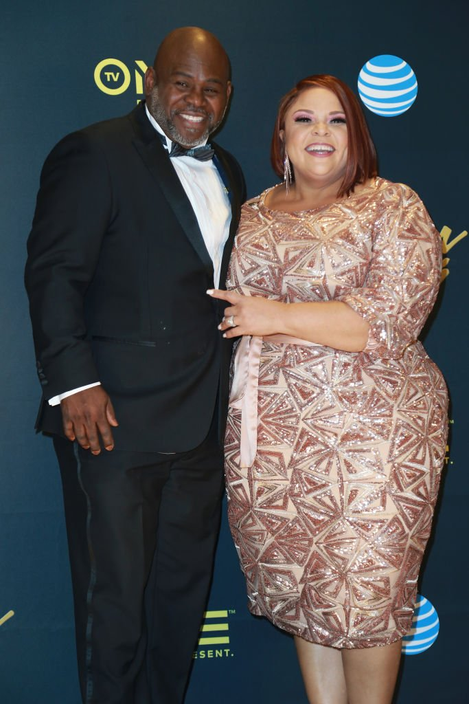 David Mann and Tamela Mann visits the Press Room at the 33rd annual Stellar Gospel Music Awards   Photo: Getty Images