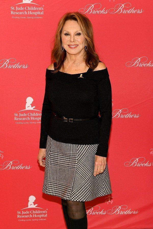 Marlo Thomas at St Jude Children's Research Hospital Annual Holiday Celebration In New York City on December 18, 2018 | Source: Getty Images