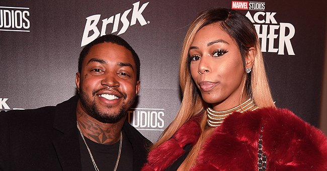 Lil Scrappy's Wife Bambi Shows Their Baby's Face in Spa-Themed Snaps and Bans Reposting — Here's Where to See It