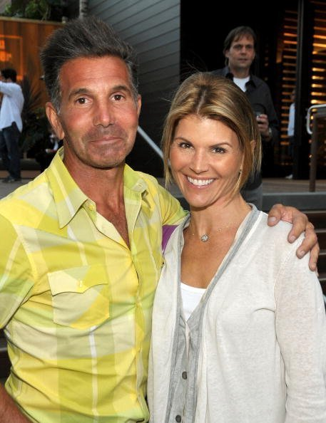 Mossimo Giannulli and Lori Loughlin at the Malibu Lumber Yard grand opening. | Photo: Getty Images