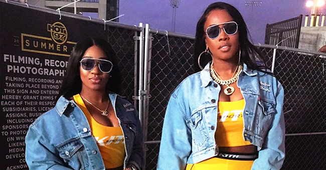 Remy Ma & Stepdaughter Are Twinning in Yellow & Denim Outfits at Hot 97's Summer Jam