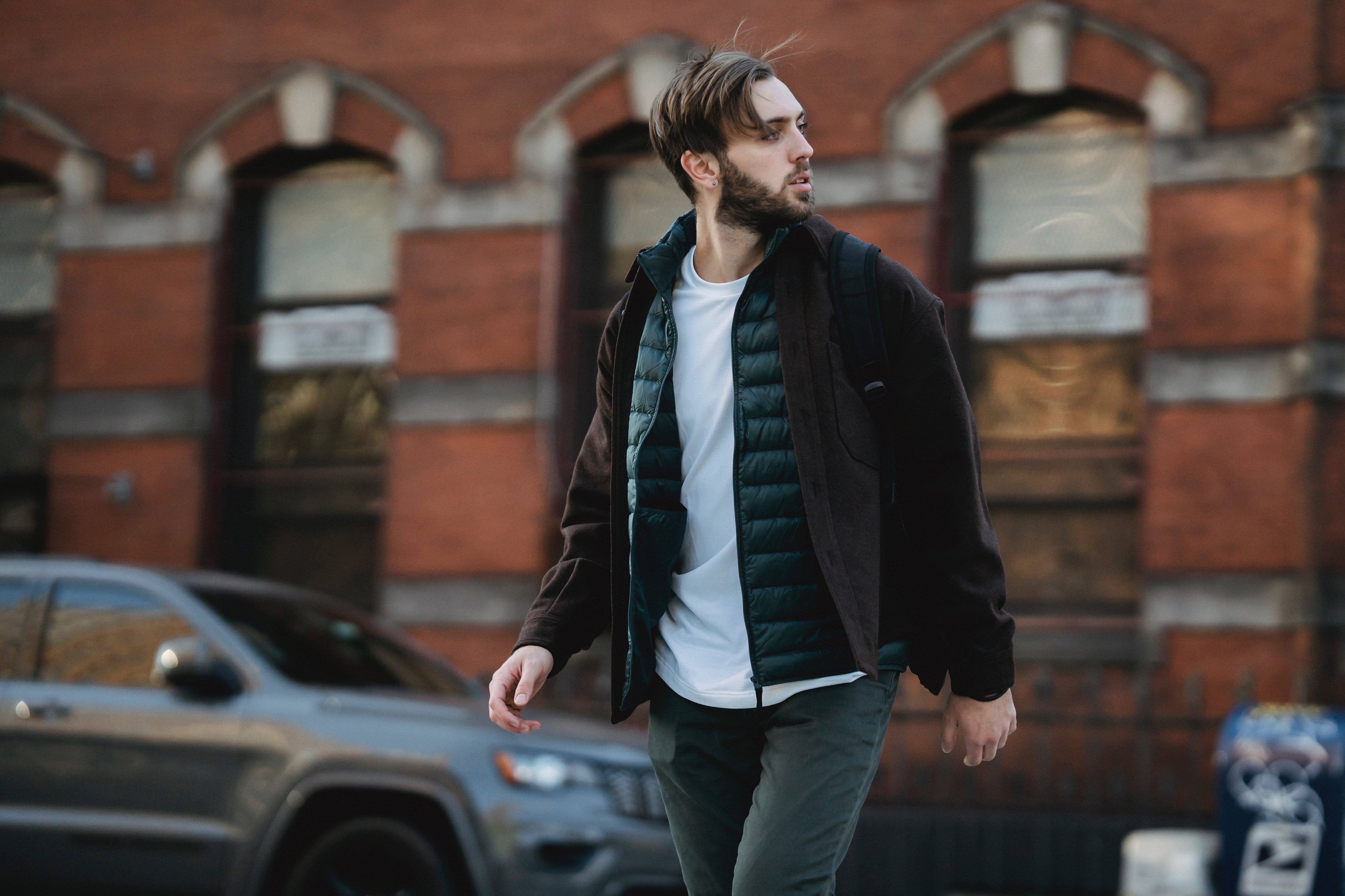 Man walking down the street | Source: Pexels/ Mary Taylor