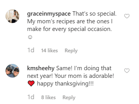 More comments on Joanna's post | Instagram: @joannagaines
