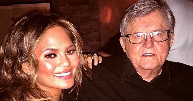 Chrissy Teigen Pays Tribute to Her Dad Ron Who Tattooed Her Face on His Arm