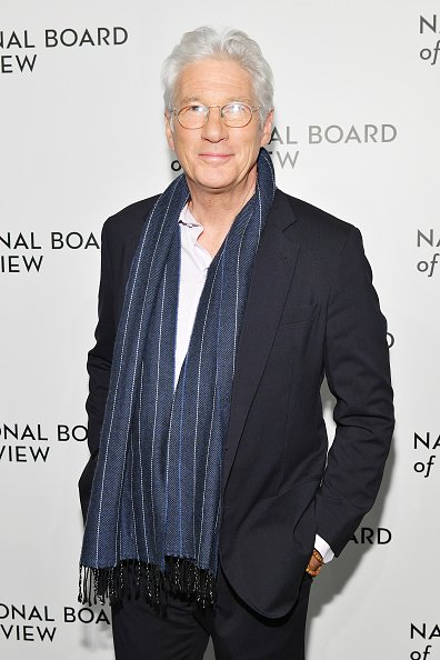 Richard Gere au gala annuel de remise des prix du National Board of Review le 8 janvier 2019 | Photo: Getty Images