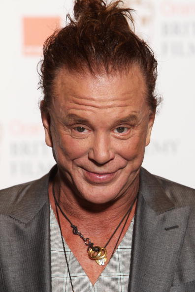 Mickey Rourke at The Royal Opera House on February 21, 2010 in London, England | Photo: Getty Images