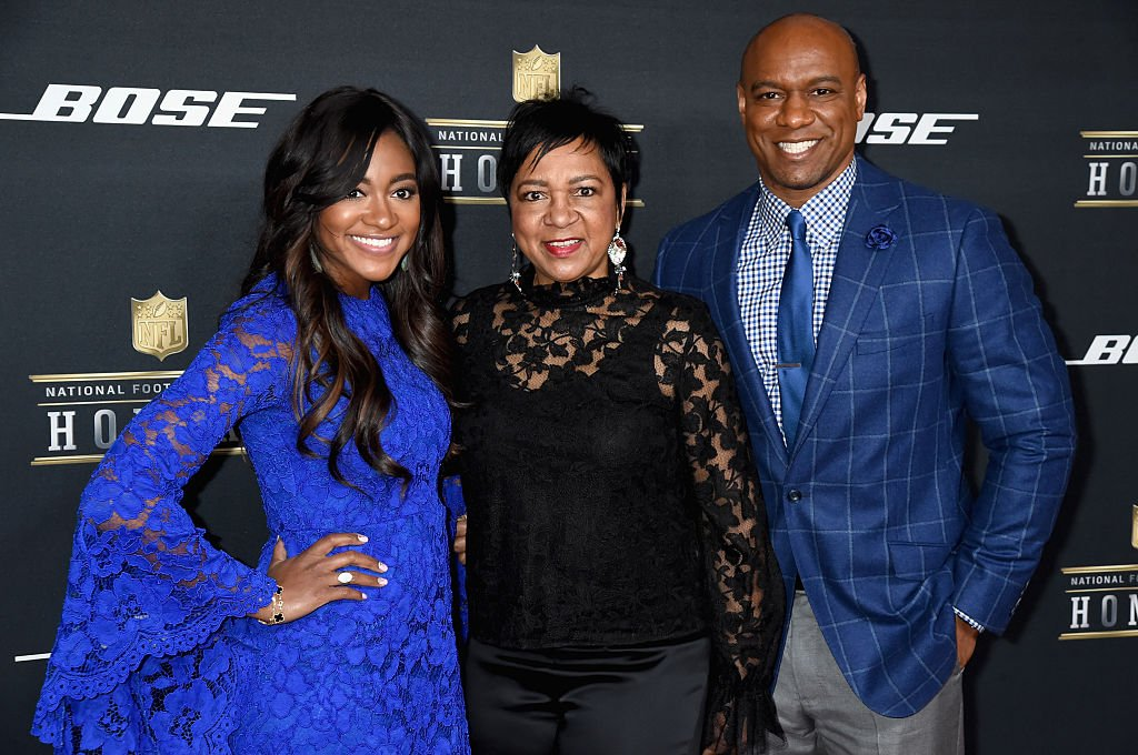 Brittney Payton, Connie Payton and Jarrett Payton attend the 5th Annual NFL Honors at Bill Graham Civic Auditorium | Photo: Getty Images