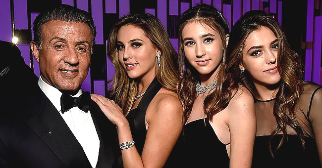 Sylvester Stallone's Daughters Sophia and Sistine Reflect on the Dating Advice He Gives Them