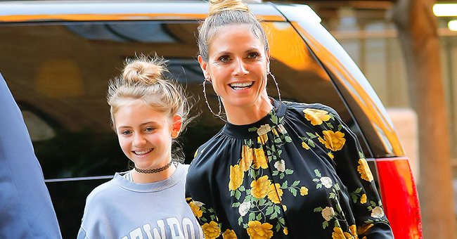LeniKlum and her mother Heidi seen on June 12, 2017, in New York City | Photo:Gotham/GC Images/Getty Images
