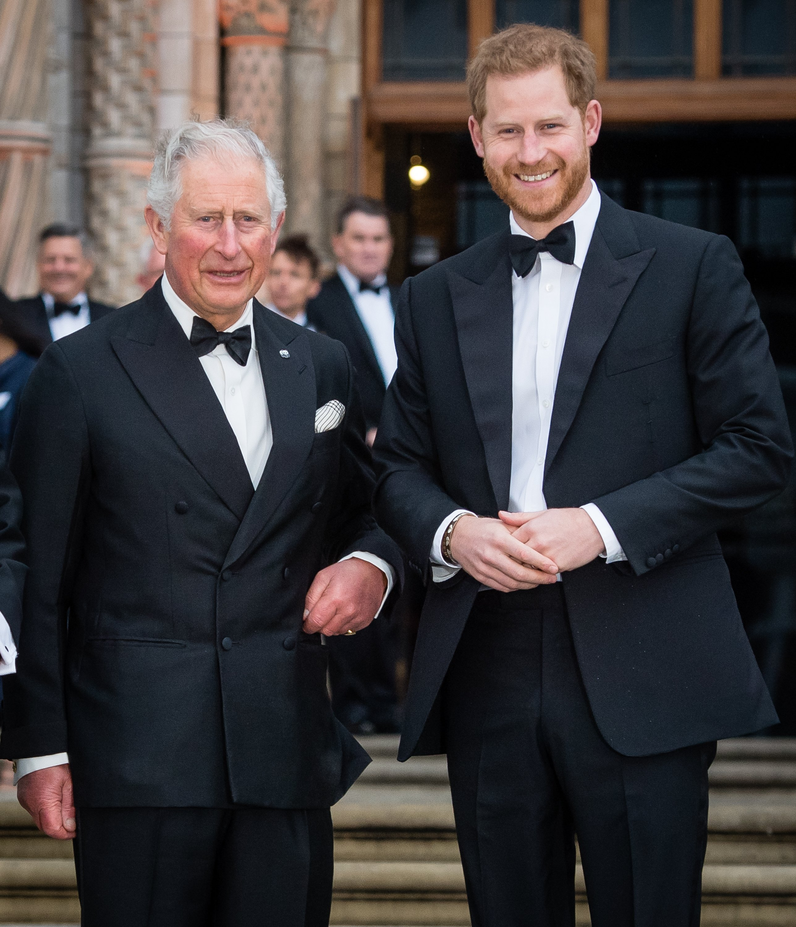 Le prince Harry et le prince Charles   photo : Getty Images