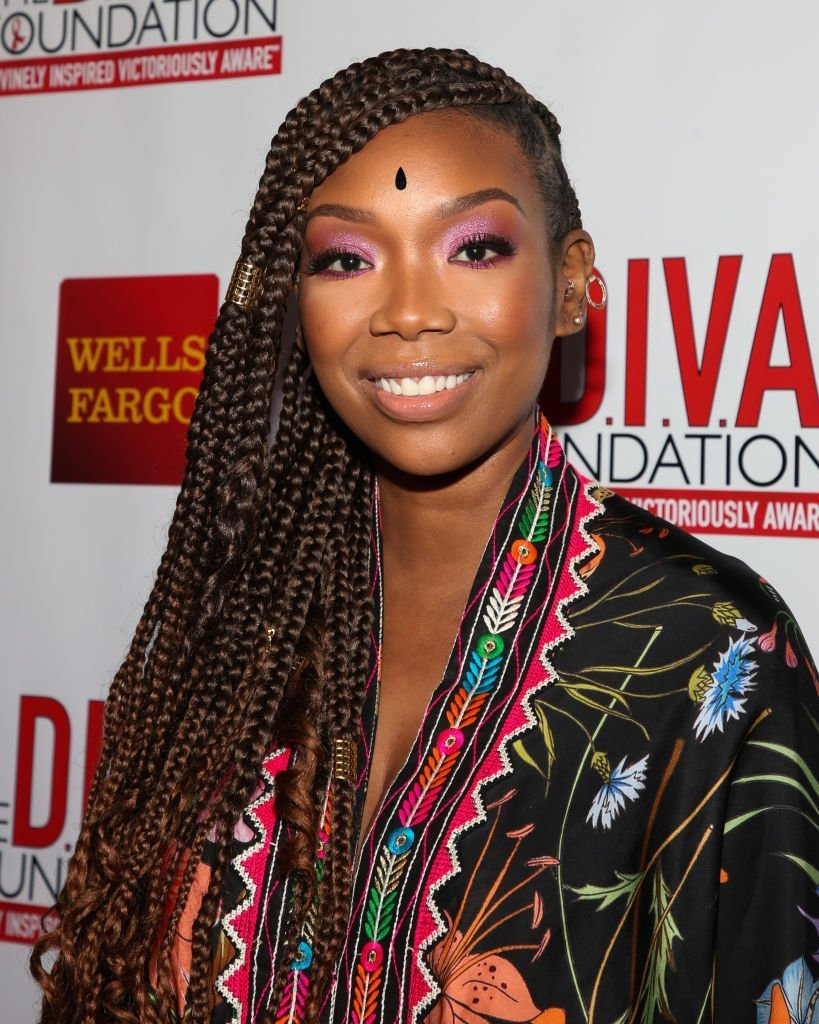 Actress / Singer Brandy attends the 29th Annual DIVAS Simply Singing On World AIDS Day at Taglyan Cultural Complex | Photo: Getty Images