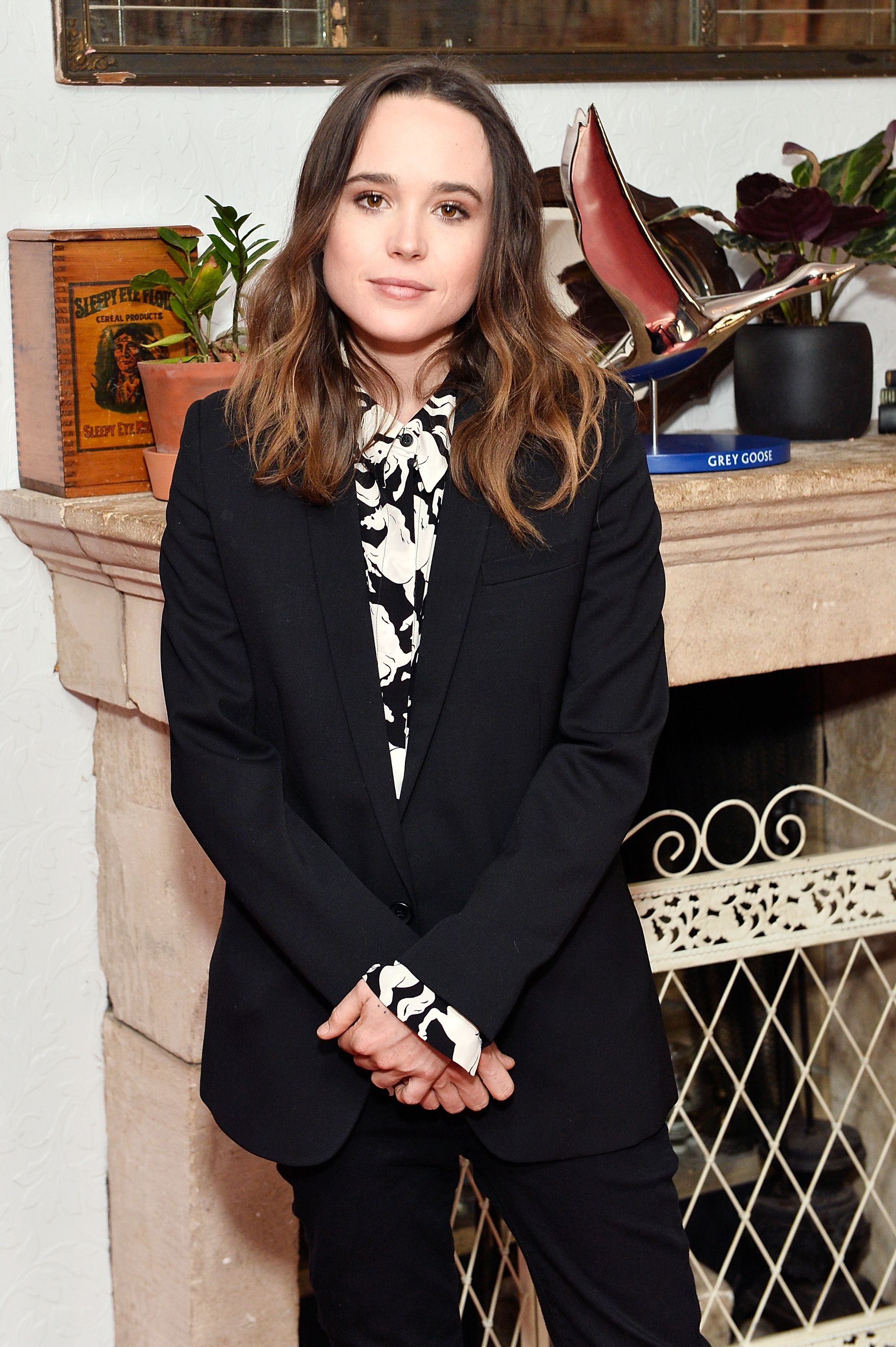 Ellen Page at the MY DAYS OF MERCY premiere party hosted by GREY GOOSE Vodka and Soho House on September 11, 2017 | Photo: Getty Images
