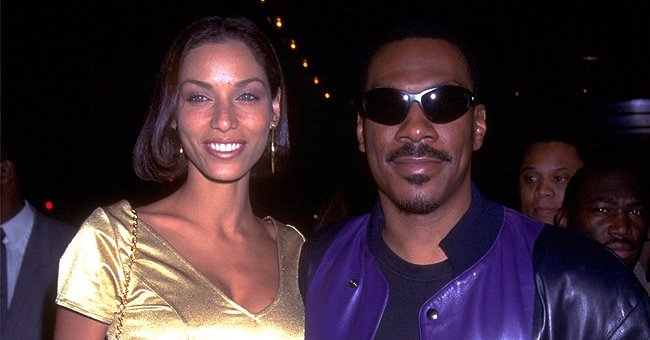 Eddie Murphy's Ex Nicole Rocks Golden Chain around Her Flat Stomach with Piercing