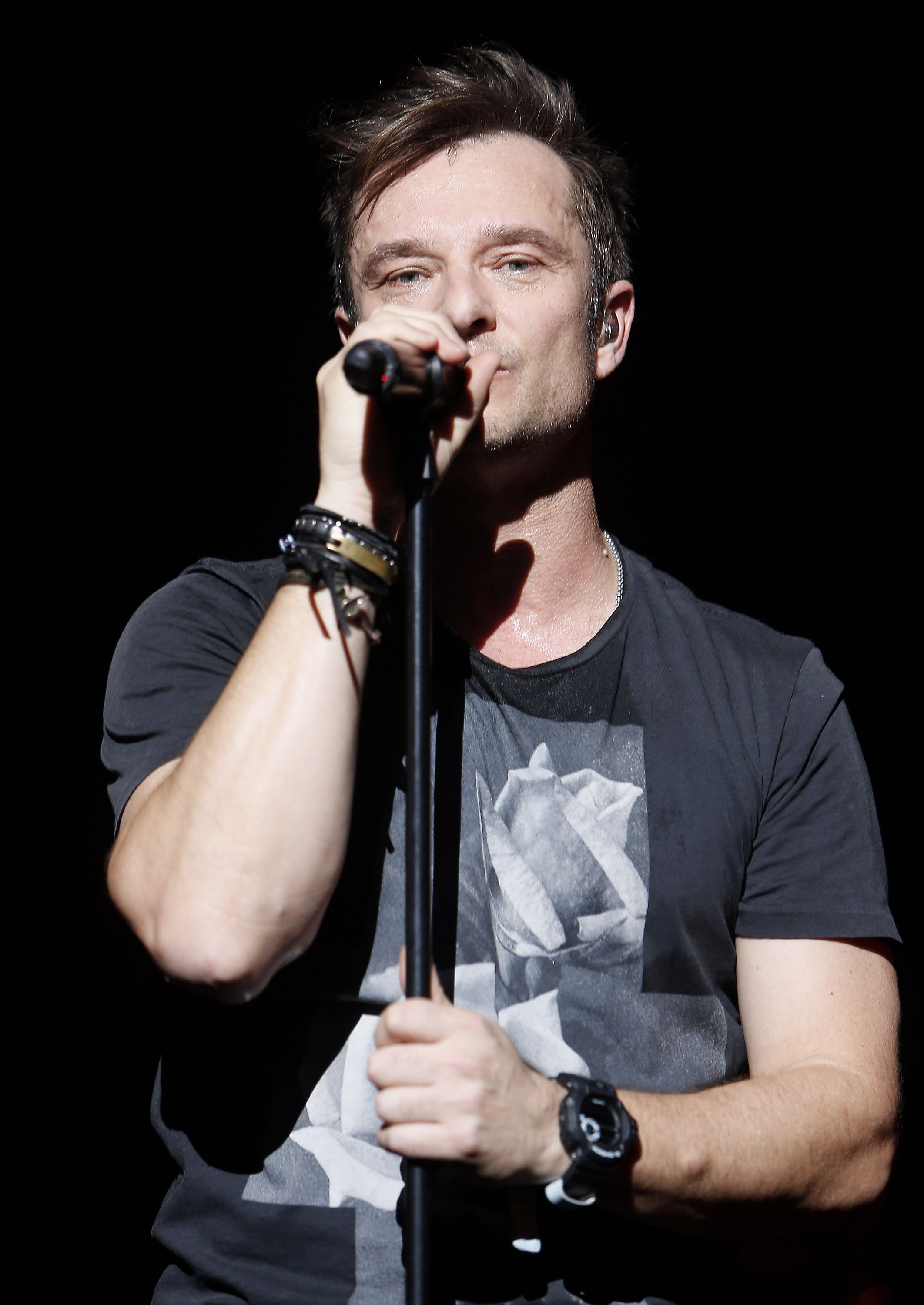 Le chanteur David Hallyday | Photo : Getty Images