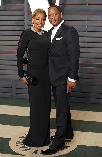 Mary J. Blige and Kendu Isaacs at Wallis Annenberg Center for the Performing Arts on February 28, 2016 | Photo: Getty Images