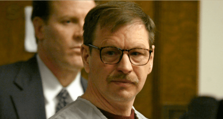 Gary Ridgway leaves the courtroom where he was sentenced in King County Washington Superior Court December 18, 2003 in Seattle, Washington | Source: Getty Images