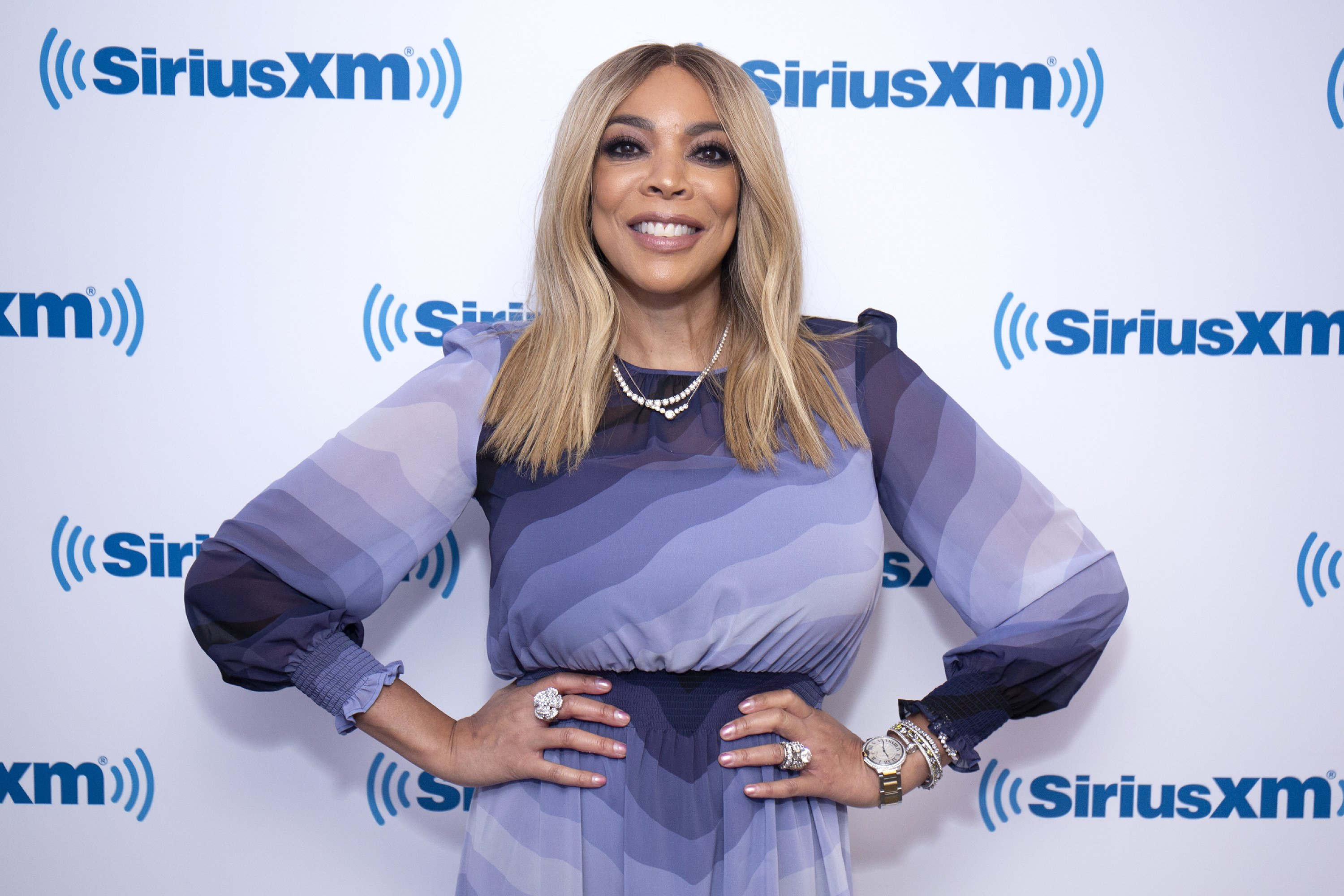 Wendy Williams visits SiriusXM Studios on September 6, 2018. | Photo: Getty Images
