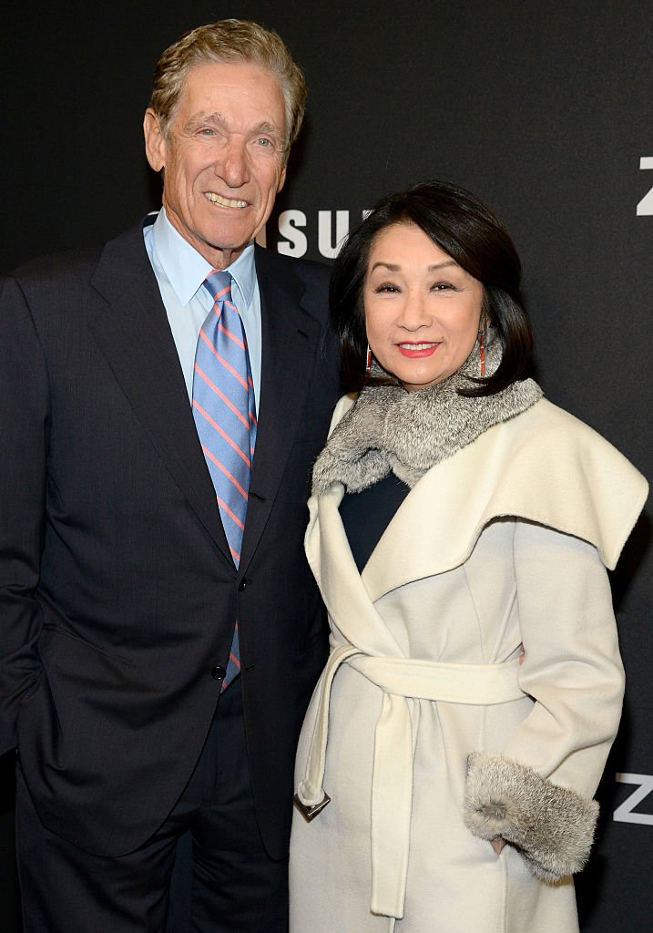 "Maury Povich (L) and Connie Chung attend the ""Zoolander 2"" World Premiere at Alice Tully Hall  
