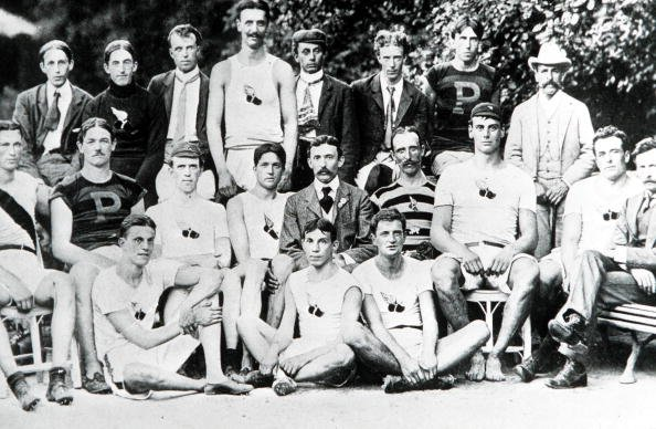 """The first USA Olympic representatives, a small unofficial """"team"""" 