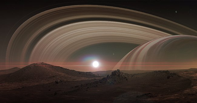 A digital representation of the rings of Saturn | Photo: Shutterstock