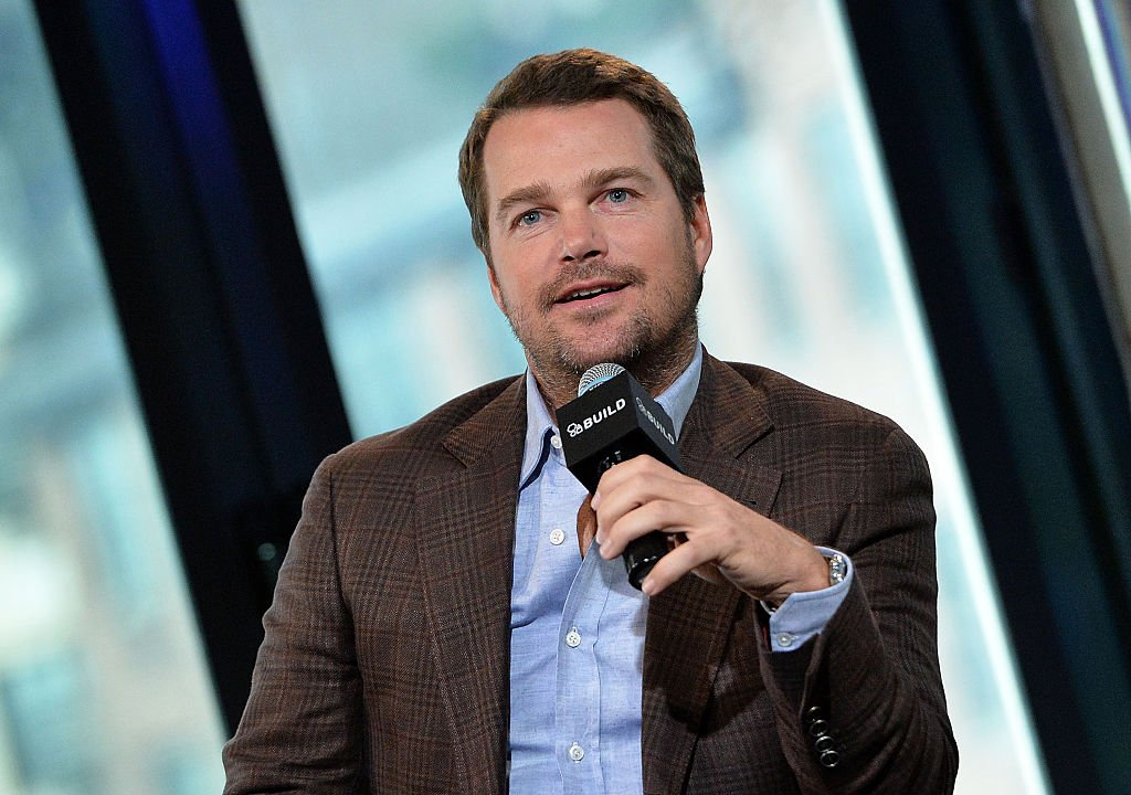"Actor Chris O'Donnell discusses his hit series ""NCIS:Los Angeles"" at AOL Build at AOL Studios In New York 