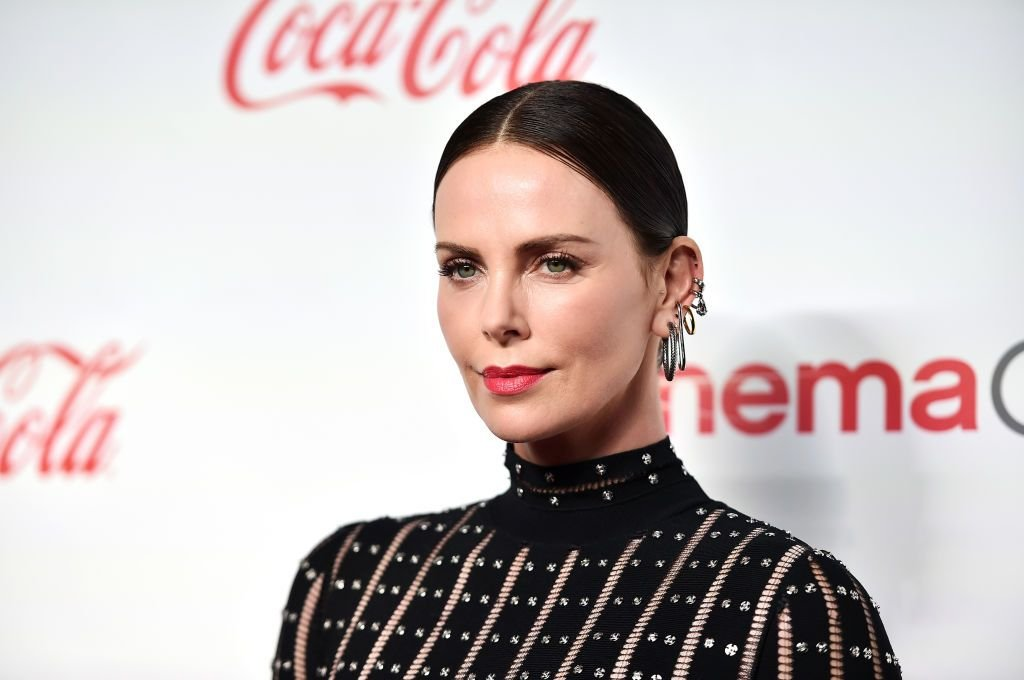 Charlize Theron at The CinemaCon Big Screen Achievement Awards Brought to you by The Coca-Cola Company at OMNIA Nightclub at Caesars Palace on April 4, 2019 | Photo: Getty Images