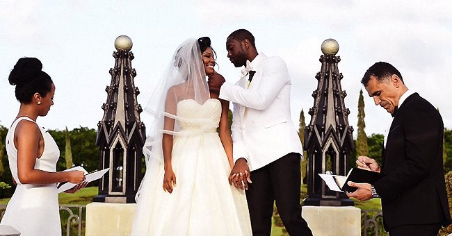 Actress Gabrielle Union married her best friend, Dwyane Wade on August 30, 2014 | Photo: Youtube/Suzanne Delawar