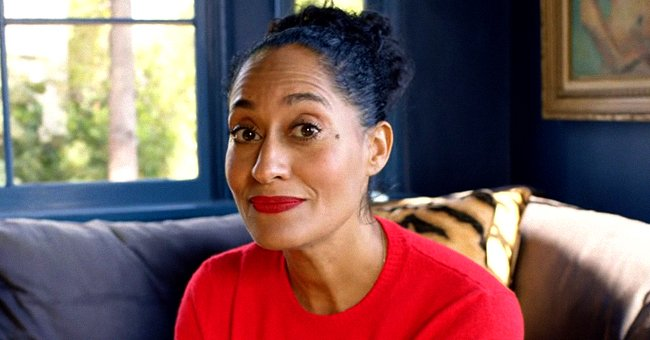 Tracee Ellis Ross Dons Huge Hoop Earrings as She Poses in a Tight Orange & Tan Outfit (Photos)