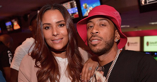 Ludacris Shares TBT Video with His Wife in Gorgeous Brown Dress Enjoying a Date Night on Train