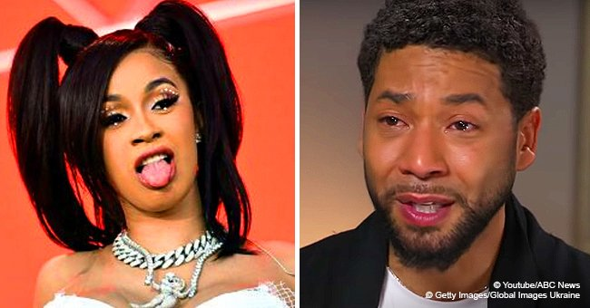 Cardi B calls out Jussie Smollett for ruining Black History Month because of staged attack claims