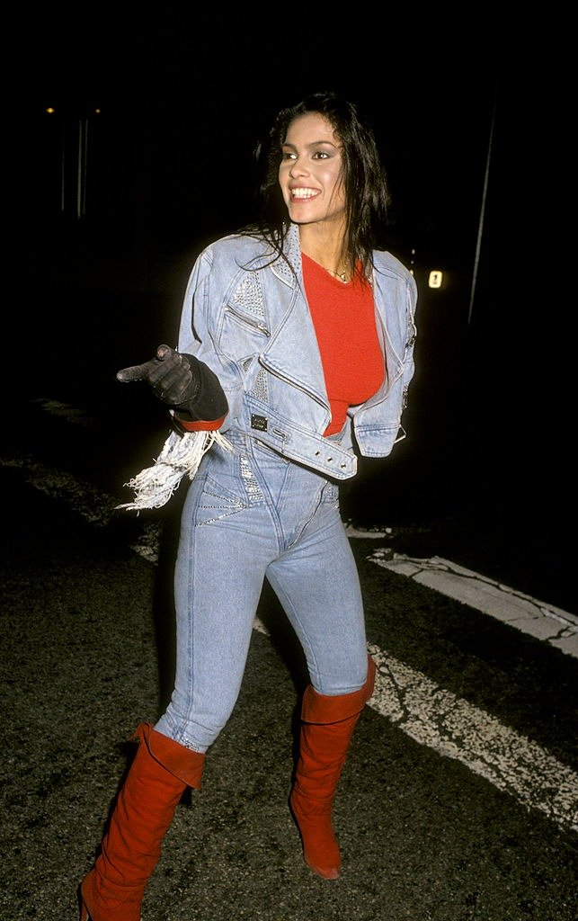 Singer Vanity attends a Virgin Records party on February 23, 1990  | Photo: Getty Images