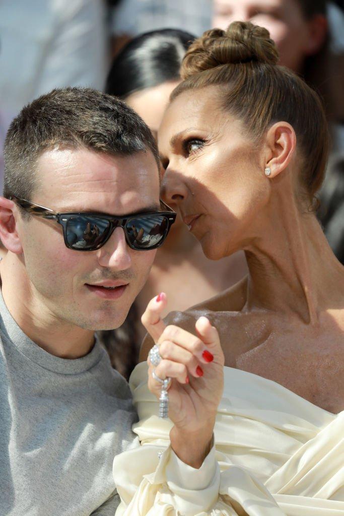 Pepe Muñoz y Céline Dion.| Fuente: Getty Images