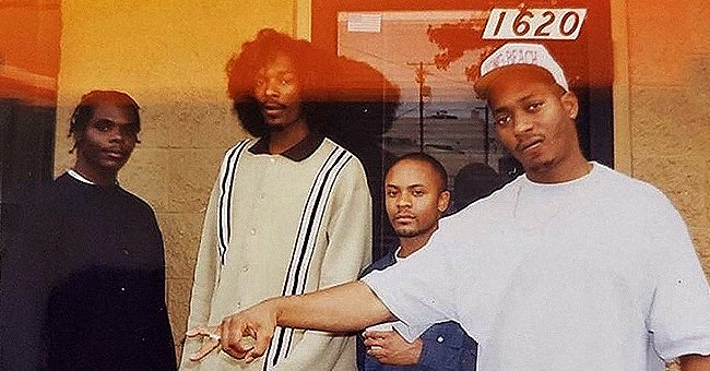 Snoop Dogg Shares Classic Throwback Photo of Himself Posing with the LBC Crew