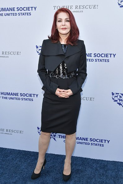 Priscilla Presley at The Humane Society Of The United States To The Rescue! Los Angeles Gala on May 04, 2019 | Photo: Getty Images