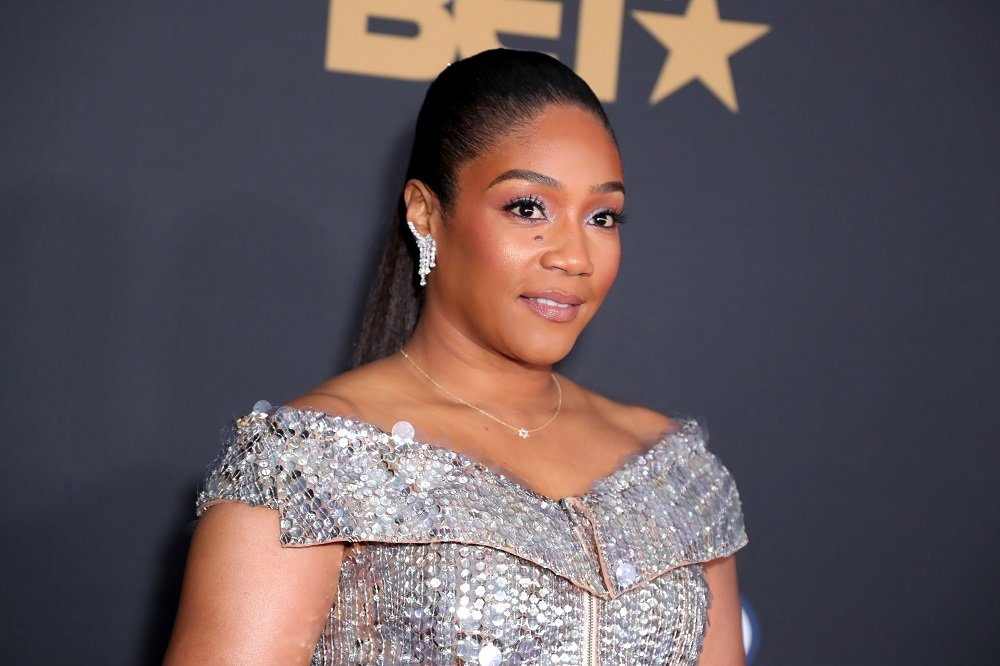 Tiffany Haddish attending the 51st NAACP Image Awards, Presented by BET, at Pasadena Civic Auditorium in Pasadena, California in February 2020. | Image: Getty Images.
