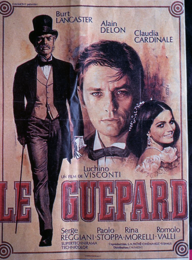 La bande d'affiche du film Le Guépard. | Photo : Getty Images