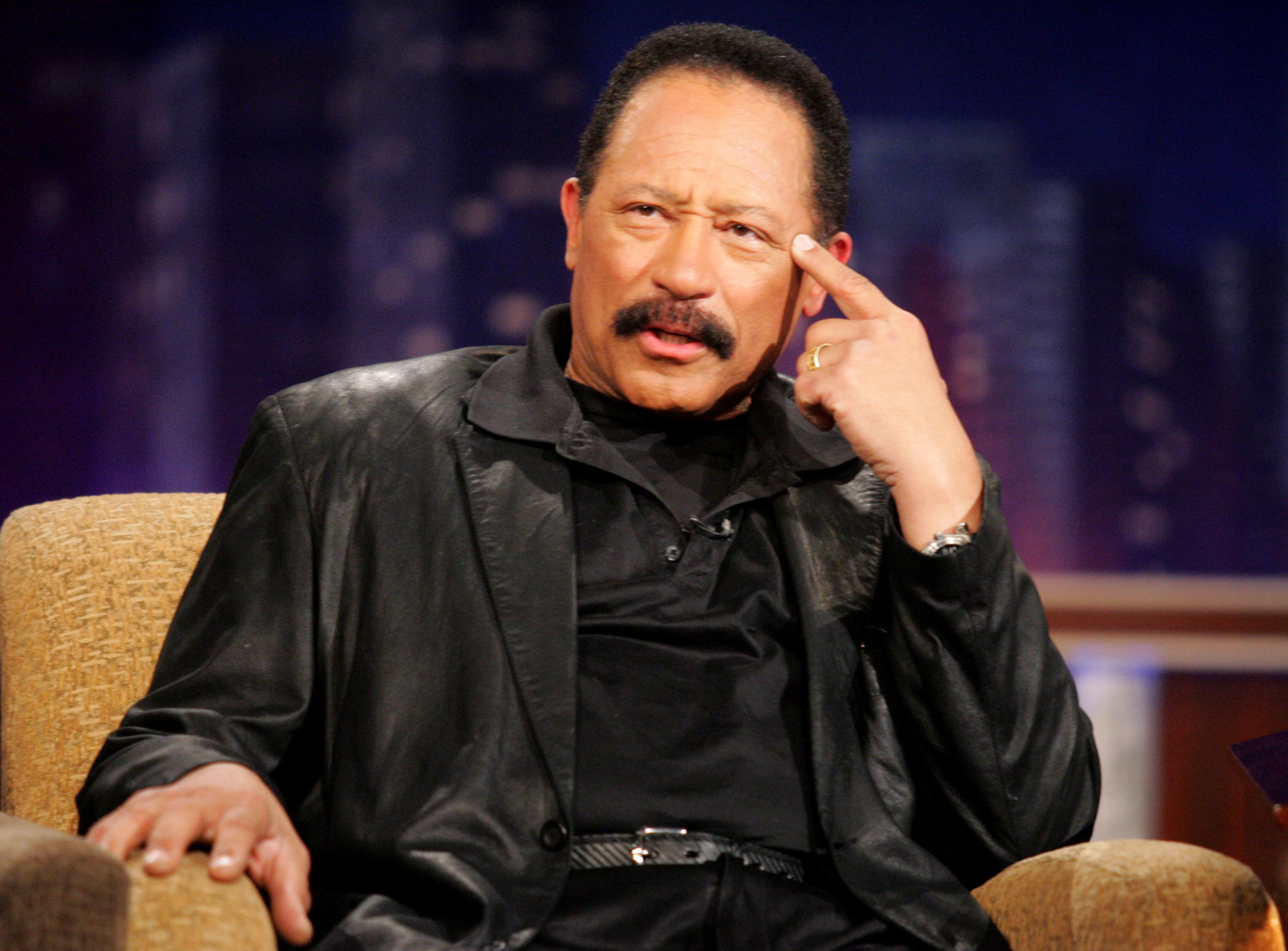 """Judge Joe Brown on the """"Jimmy Kimmel Live"""" show on ABC on May 23, 2005.   Photo: Getty Images"""