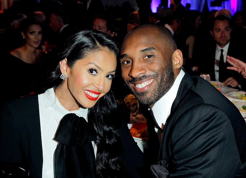 """Kobe Bryant  and his wife Vanessa Bryant sit a table at the 16th Annual """"An Unforgettable Evening"""" presented on May 2, 2013, in Beverly Hills, California   Source: Donato Sardella/Getty Images for EIF"""